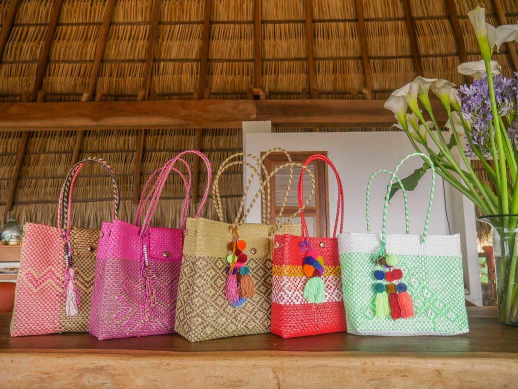 san agustinillo hotel zazil retreat artisan goods bags