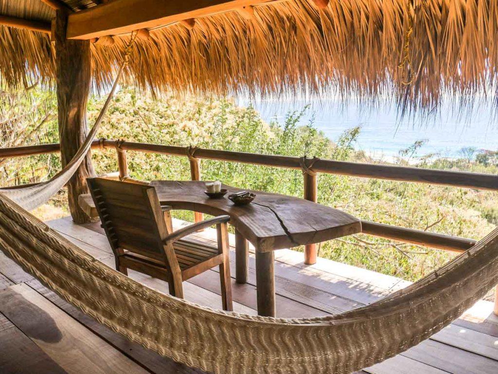 san agustinillo hotel zazil retreat private balcony