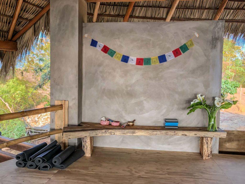 zazil retreat new yoga studio san agustinillo hotel