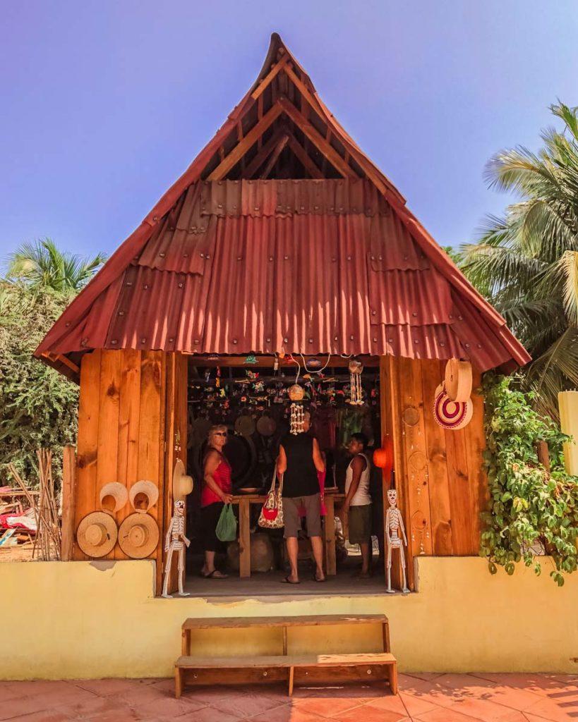 zipolite beach artisan shop oaxaca