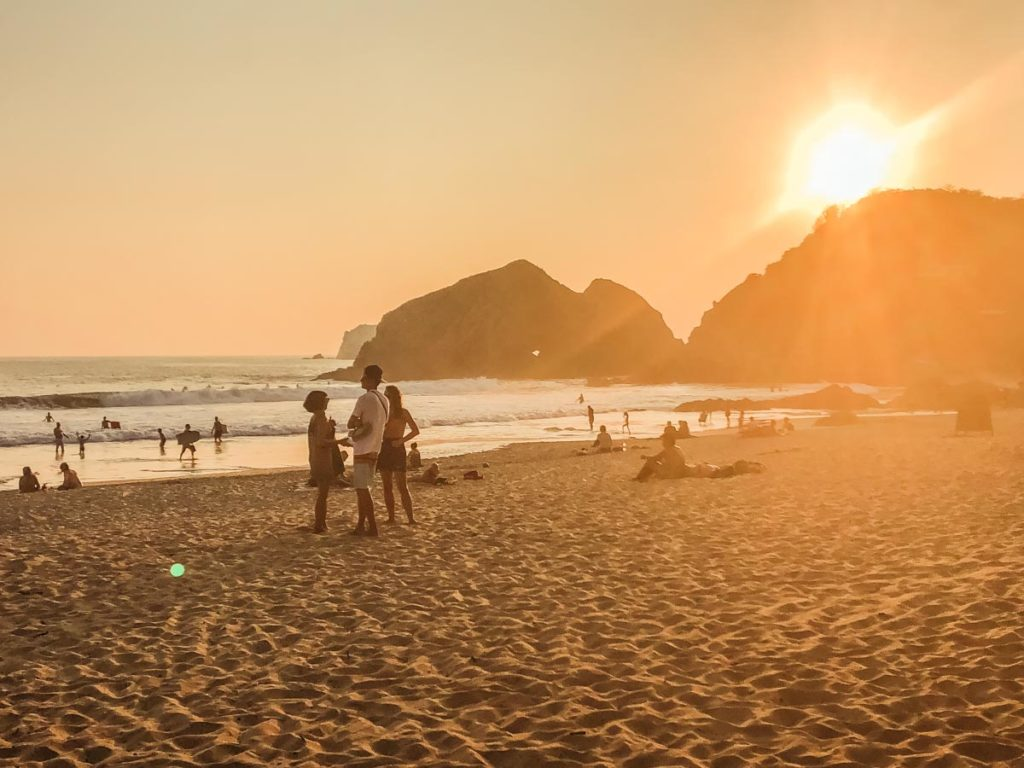 zipolite beach sunset mazunte travel guide