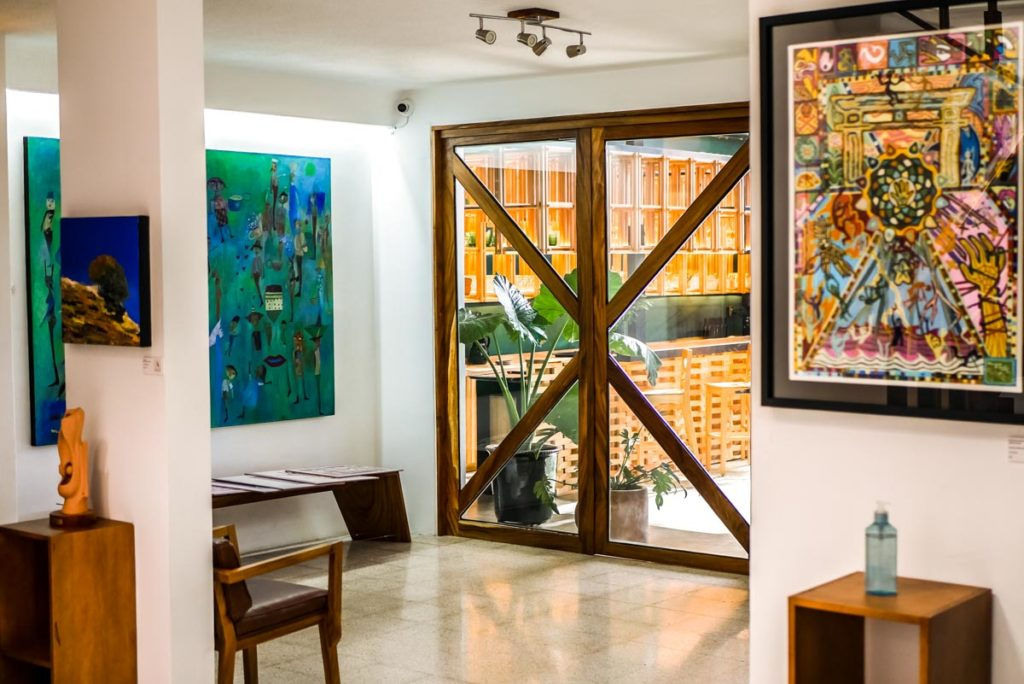 art gallery and hotel casa de arte oaxaca