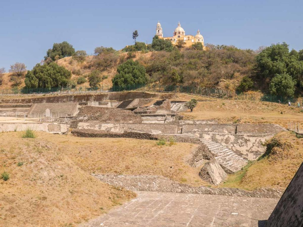 cholula pyramid puebla travel