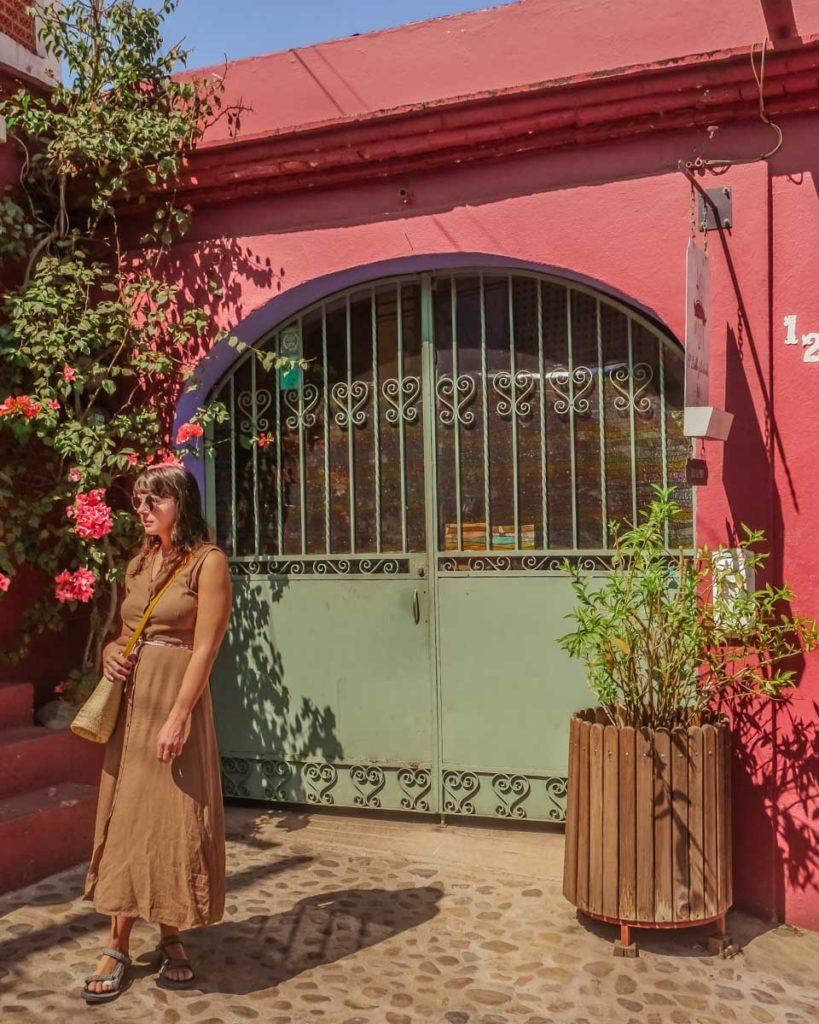 el diablo y la sandia outside door best hotels in oaxaca