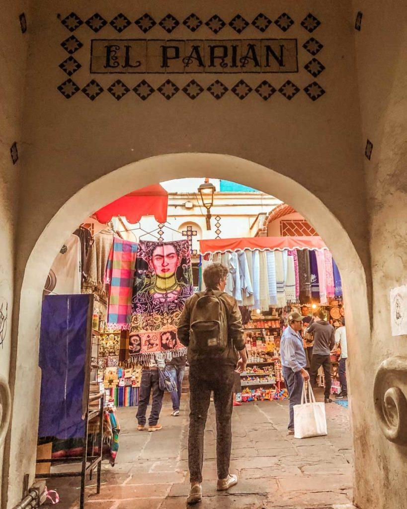 el parian artisan market puebla travel guide