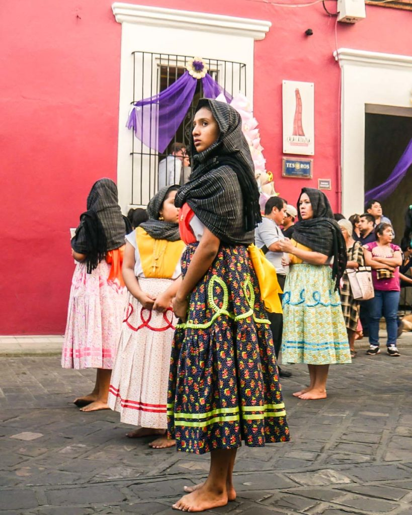 good friday procession oaxaca
