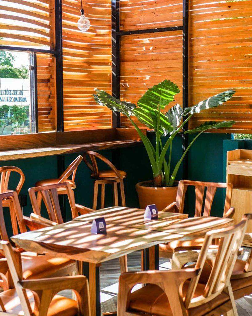 mixtu restaurant at casa de arte hotel oaxaca