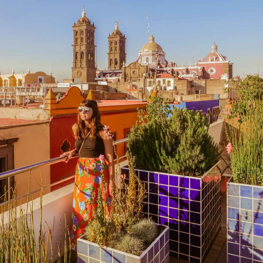 museo amparo puebla travel guide view from the rooftop