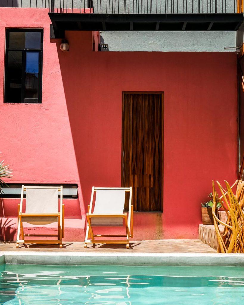 oaxaca hotel pool terrace