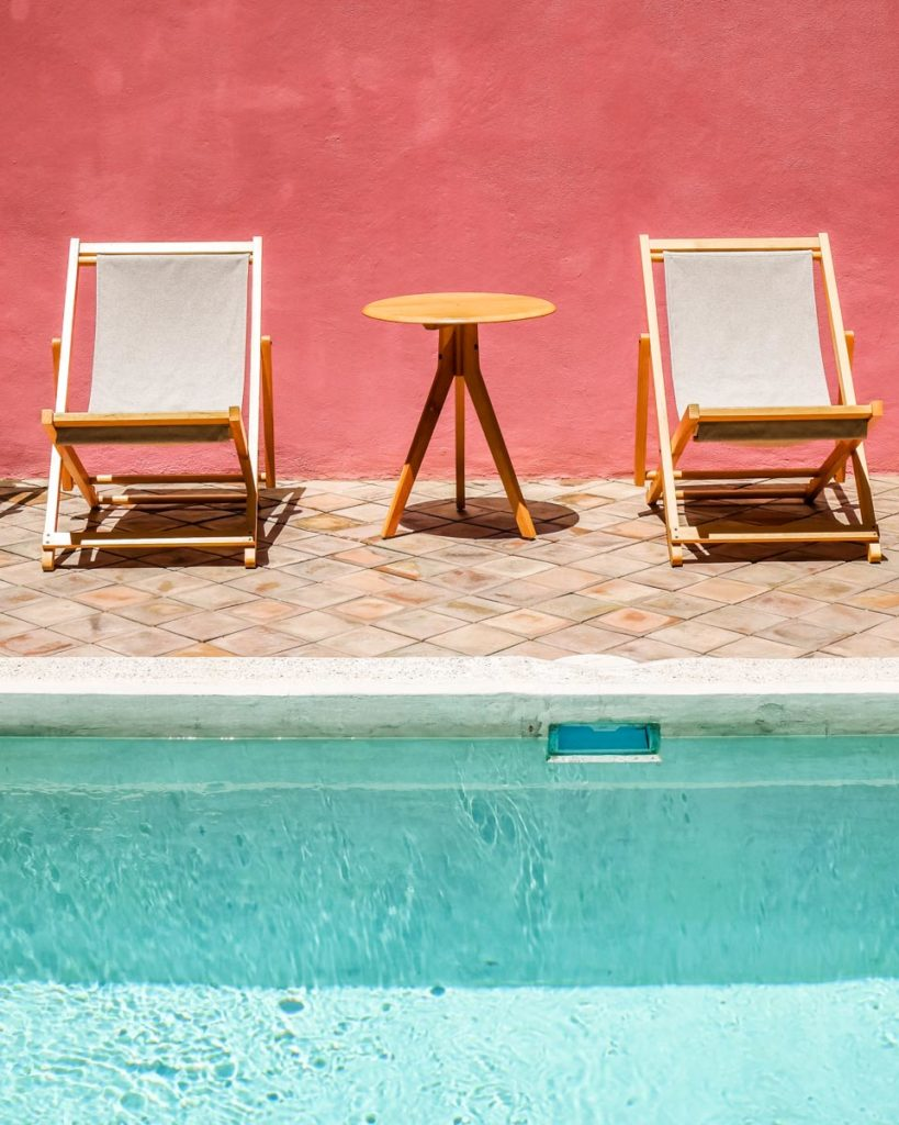 oaxaca hotel with a pool