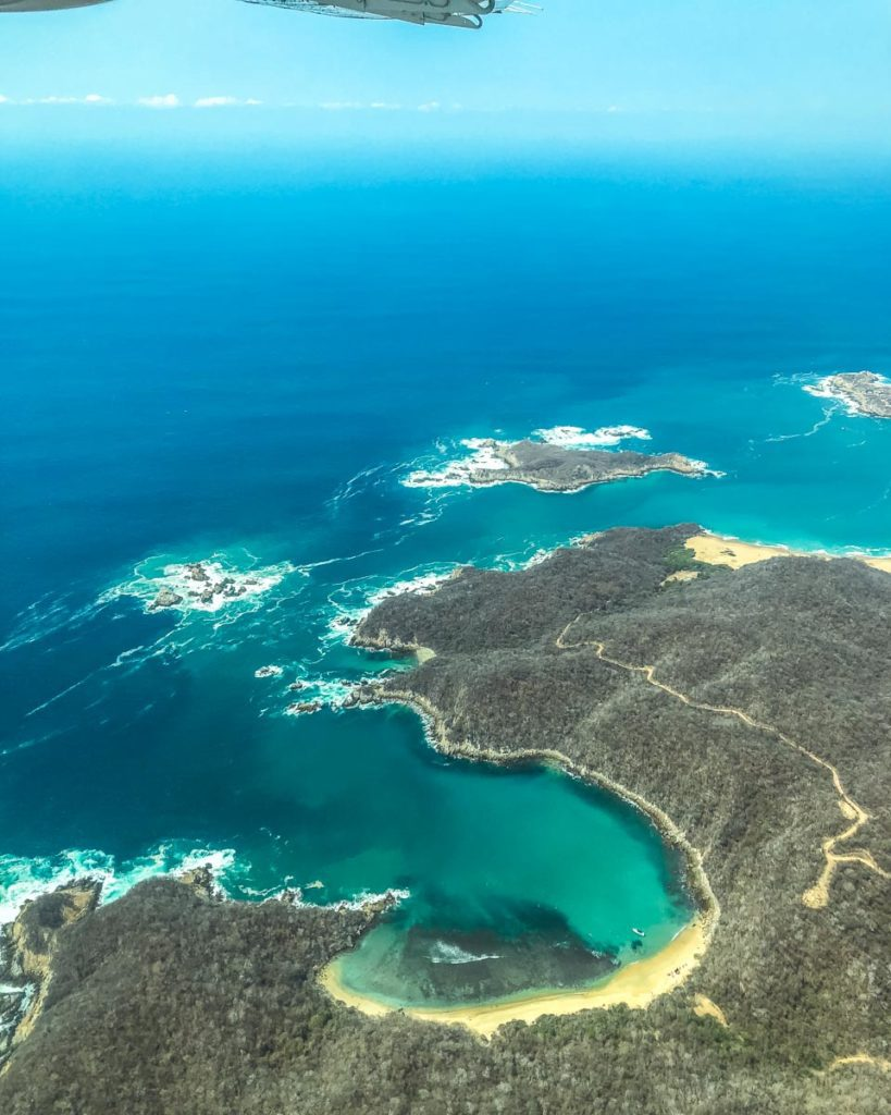 oaxaca to huatulco view from plane how to get to mazunte san agustinillo zipolite from oaxaca