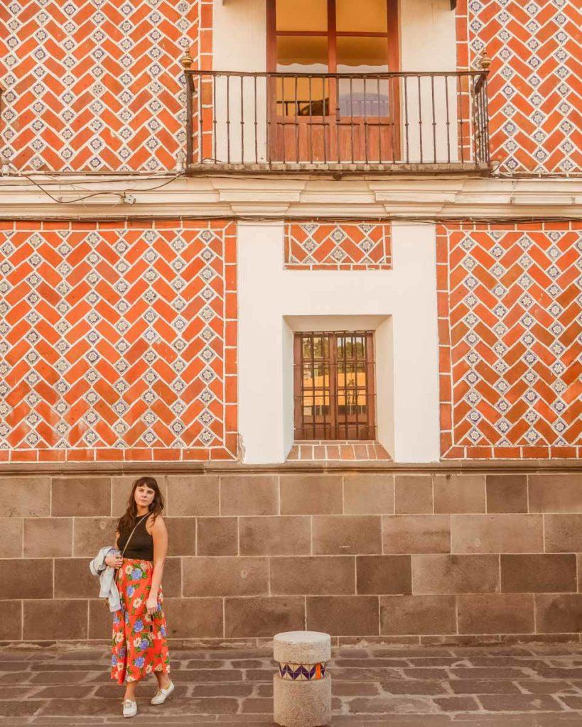 pretty tile in puebla city travel