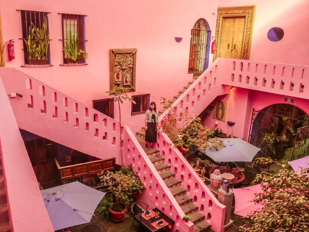 puebla hotel meson sacristia de la compania courtyard