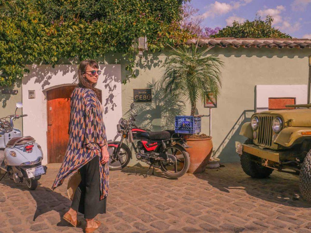 stylish travel clothes aura kimono