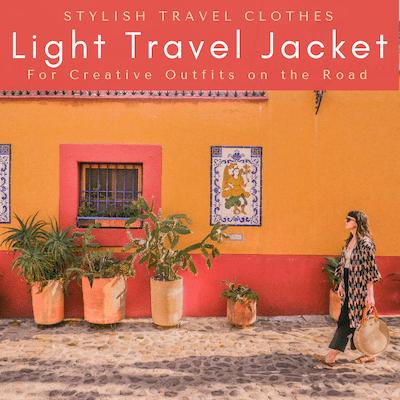 thumb aura light travel jacket stylish travel clothes copy