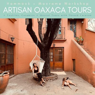 artisan oaxaca tours thread caravan hammock workshop thumb