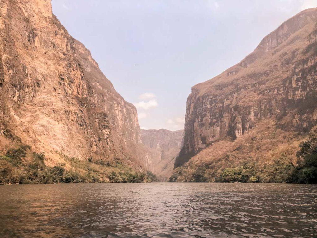sumidero canyon chiapas travel
