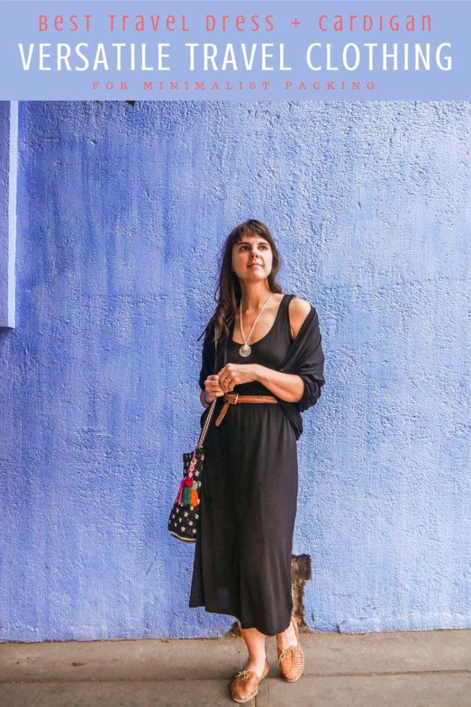 versatile travel clothing best travel dress travel cardigan for minimalist packing pinterestLR
