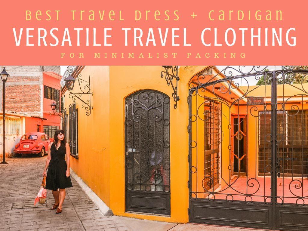 versatile travel clothing best travel dress travel cardigan for minimalist packingLR