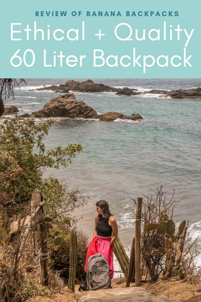Banana Backpacks, 60 liter, quality, ethical backpack pinterest 6LR