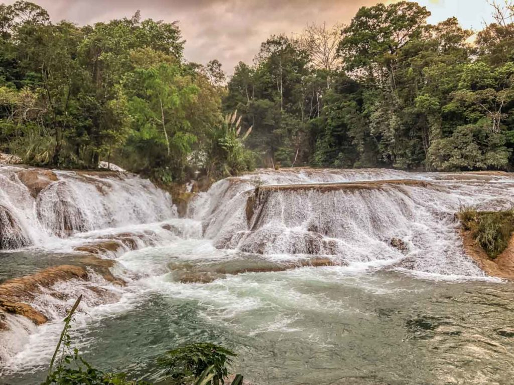 agua azul palenque tours waterfalls