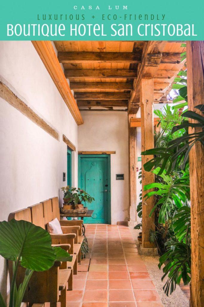 boutique hotel san cristobal chiapas casa lum pinterest 4LR