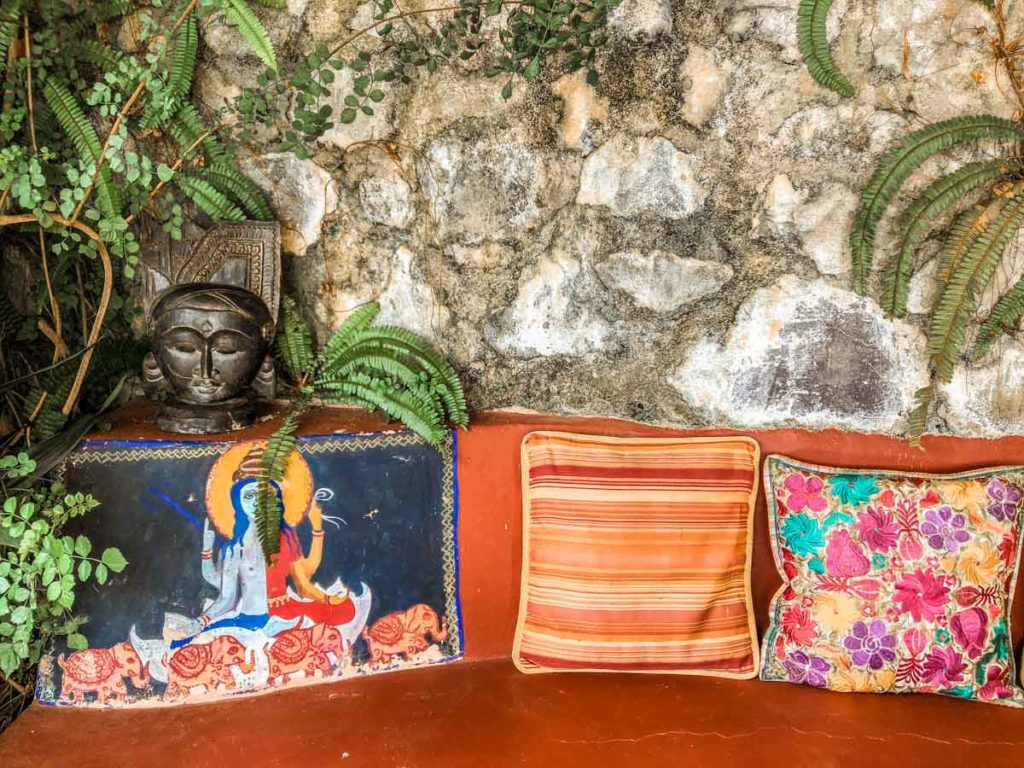 color and details at lake atitlan retreat santa cruz