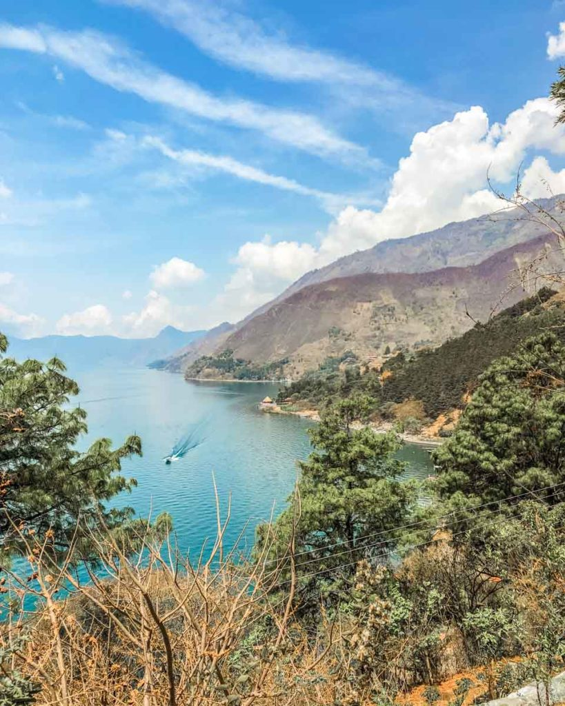 hiking to the top of villa sumaya lake atitlan