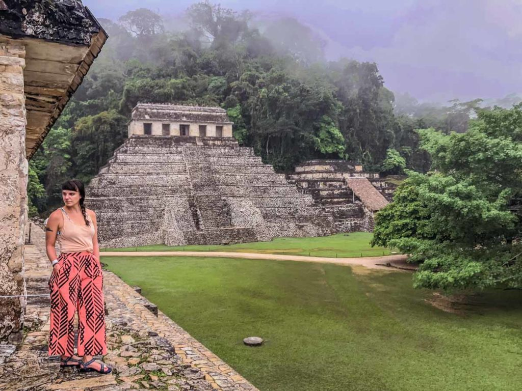 how to see the palenque ruins without a tour