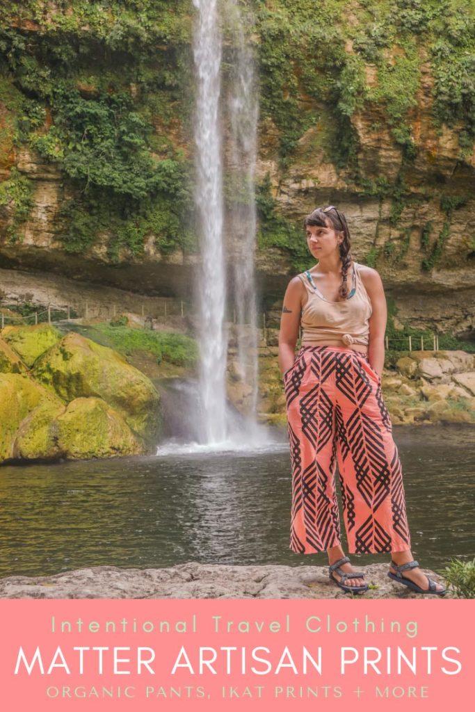 intentional travel clothing_ artisan prints, organic pants, ikat prints pinterest 4LR
