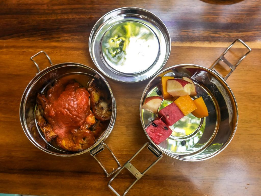 no waste travel food containers