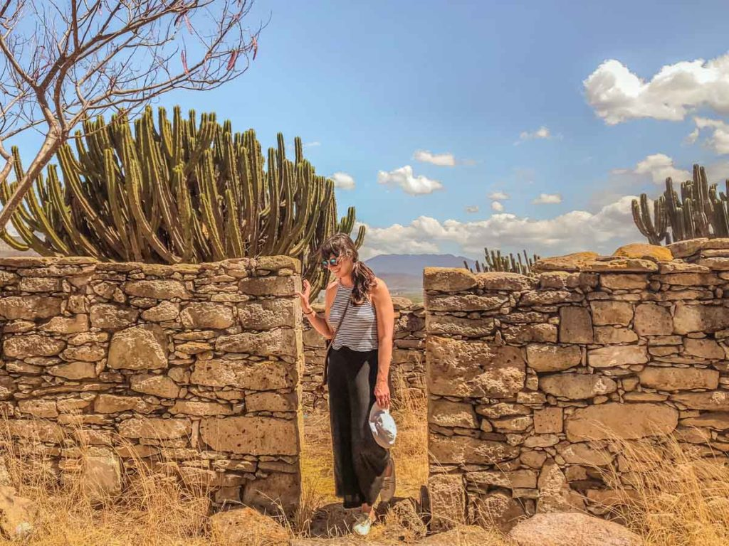 oaxaca hiking menstrual cup for travel
