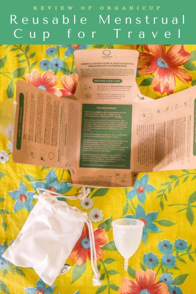 reusable menstrual cup for travel, organicup pinterest 2LR