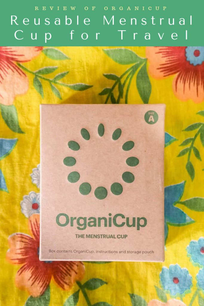 reusable menstrual cup for travel, organicup pinterest 3LR