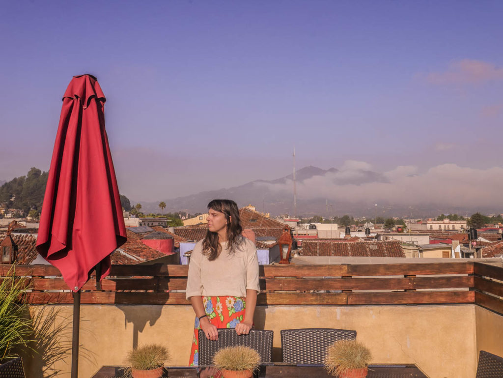 roof terrace at casa lum boutique hotel san cristobal