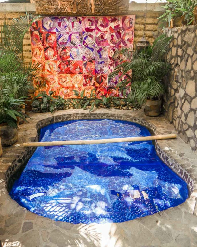 solar hot tub yoga retreat lake atitlan