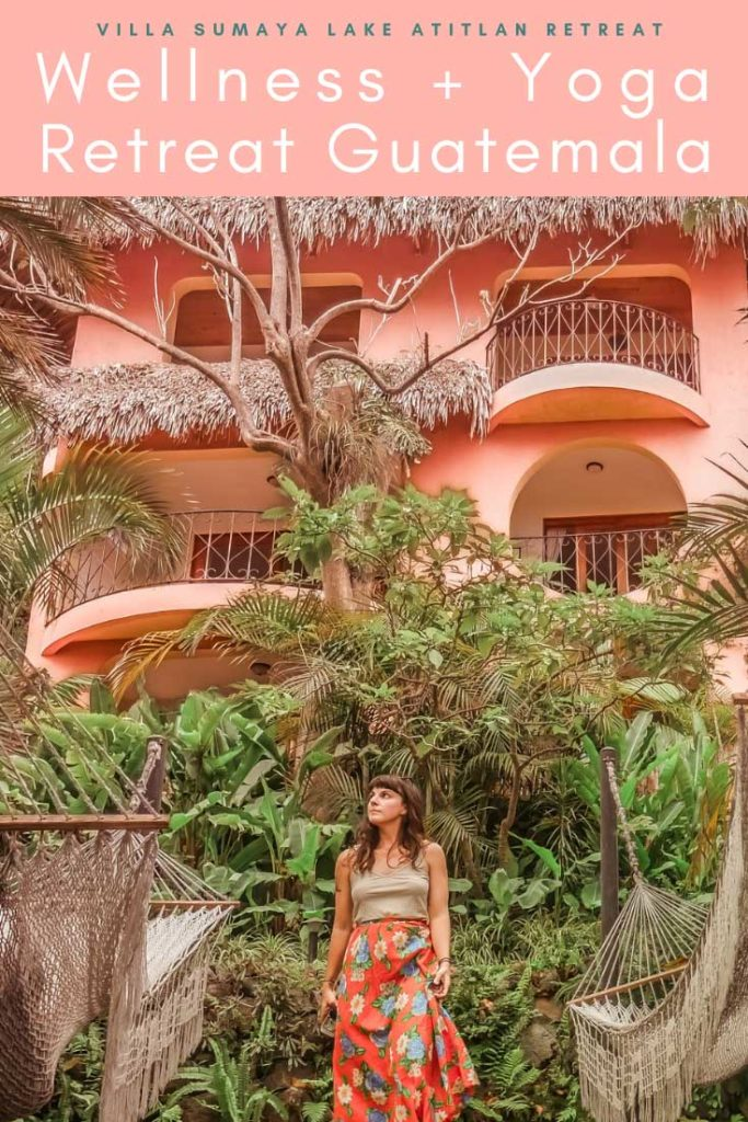 wellness and yoga retreat guatemala, villa sumaya lake atitlan retreat pinterest 3LR