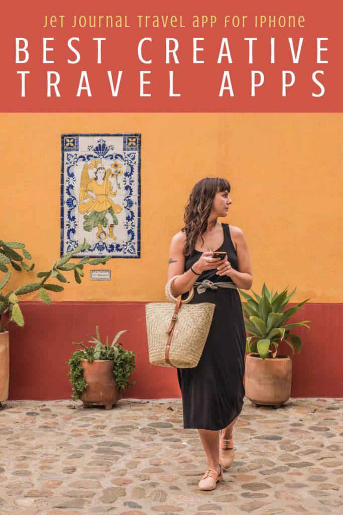 Best creative apps for travel, jet journal travel app for iphone pinterest 2LR