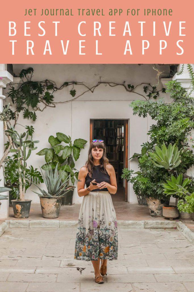 Best creative apps for travel, jet journal travel app for iphone pinterest 3LR