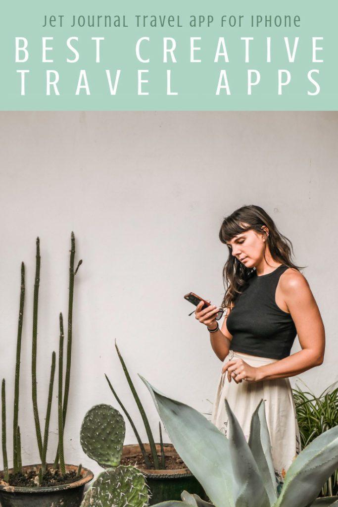 Best creative apps for travel, jet journal travel app for iphone pinterest 5LR