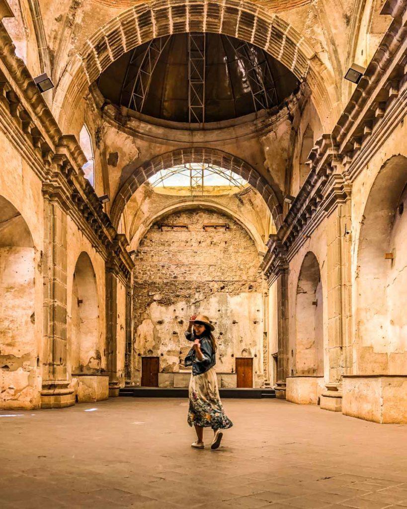 antigua travel guide convent