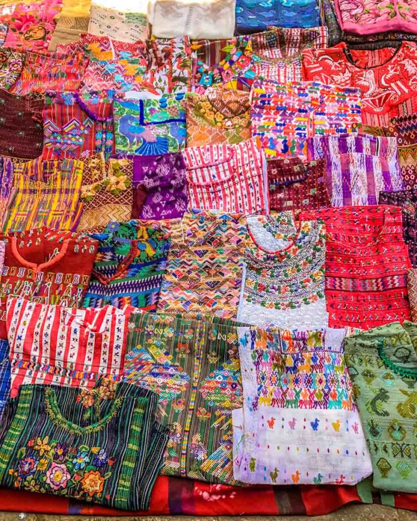 artisan textile shopping what to do in antigua guatemala