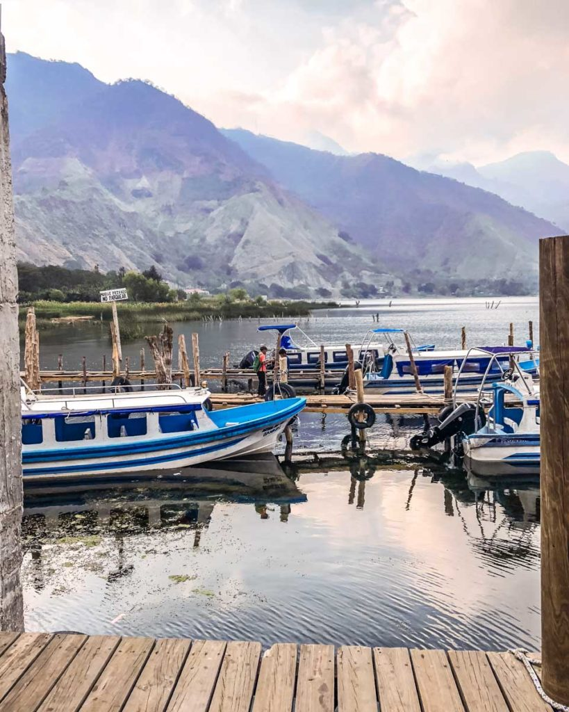 best places to visit in guatemala lake atitlan dock