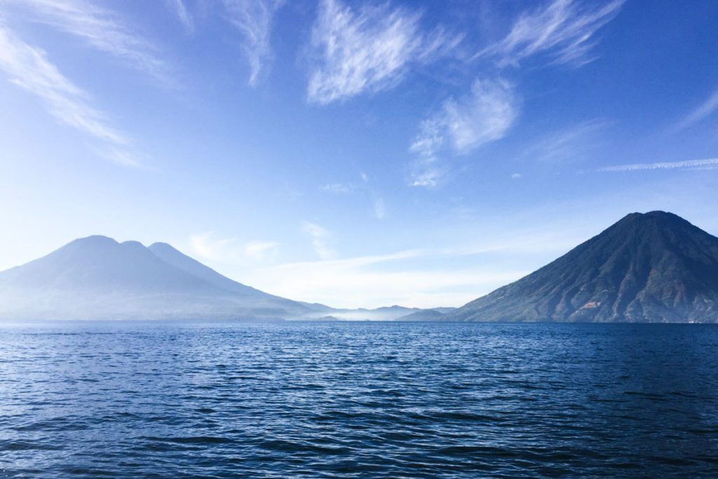 best places to visit in guatemala lake atitlan volcanoes