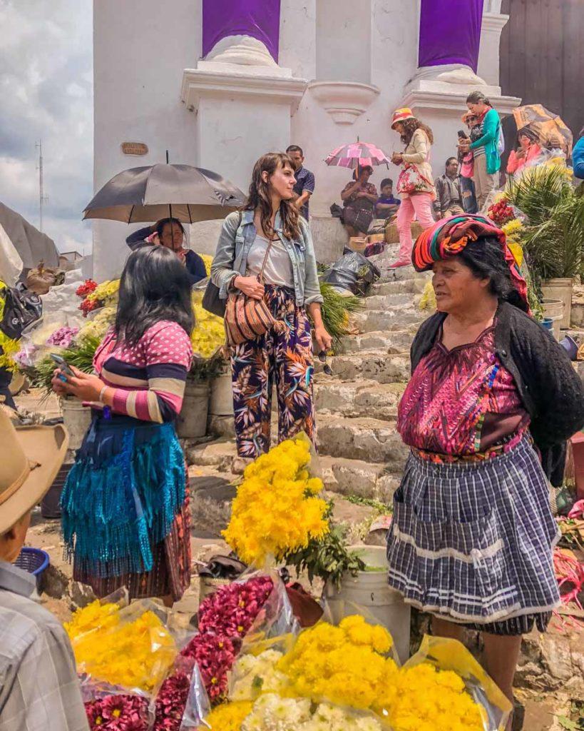 chichicastenango market things to do on lake atitlan