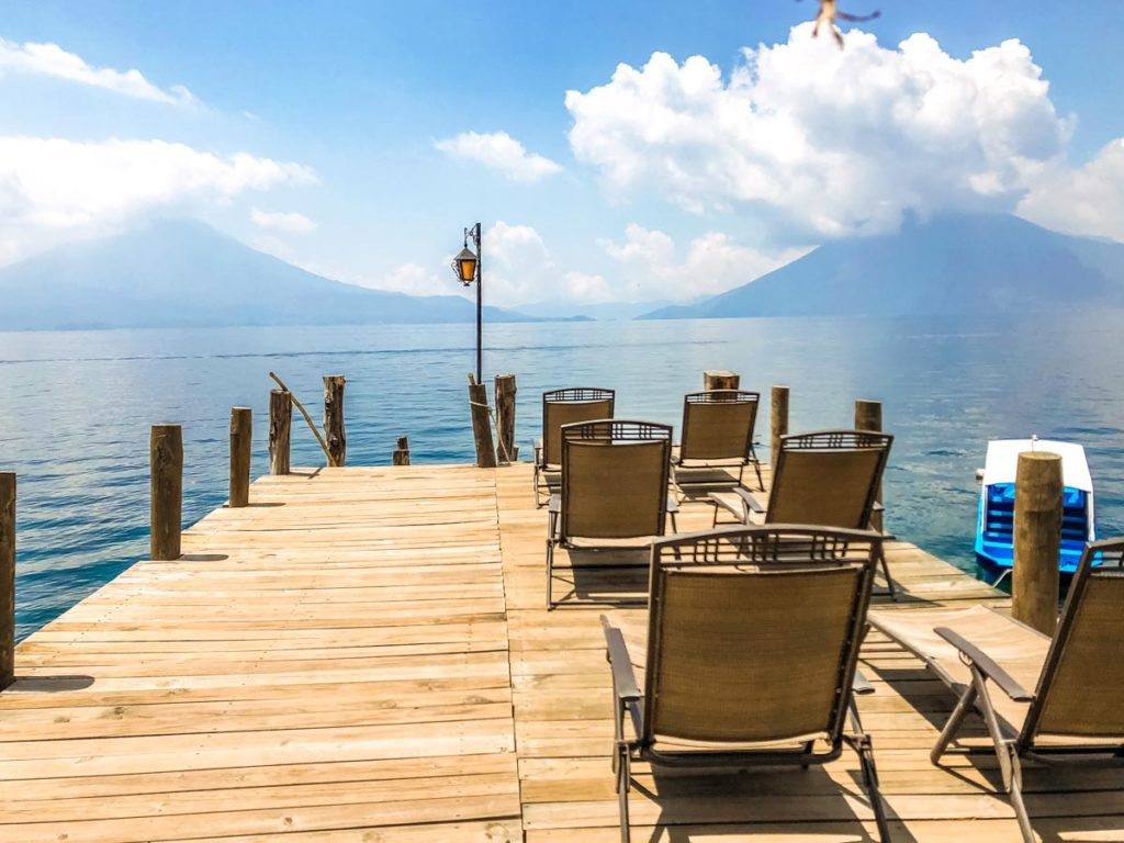 dock at villa sumaya lake atitlan hotels