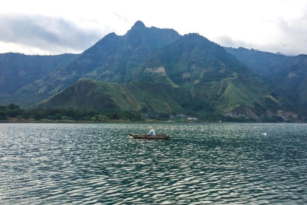 lake atitlan lake view