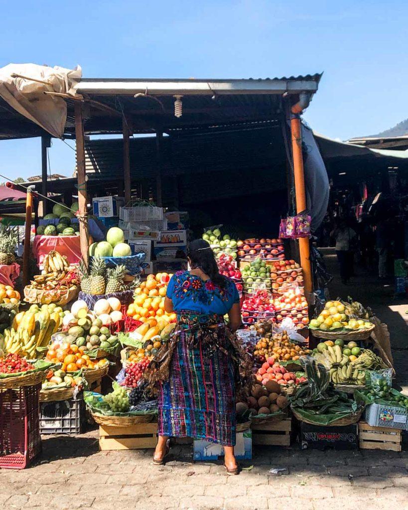 market in antigua guatemala