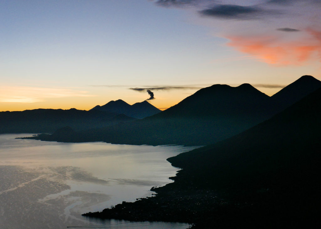 mayans nose sunrise at lake atitlan best places to visit in guatemala