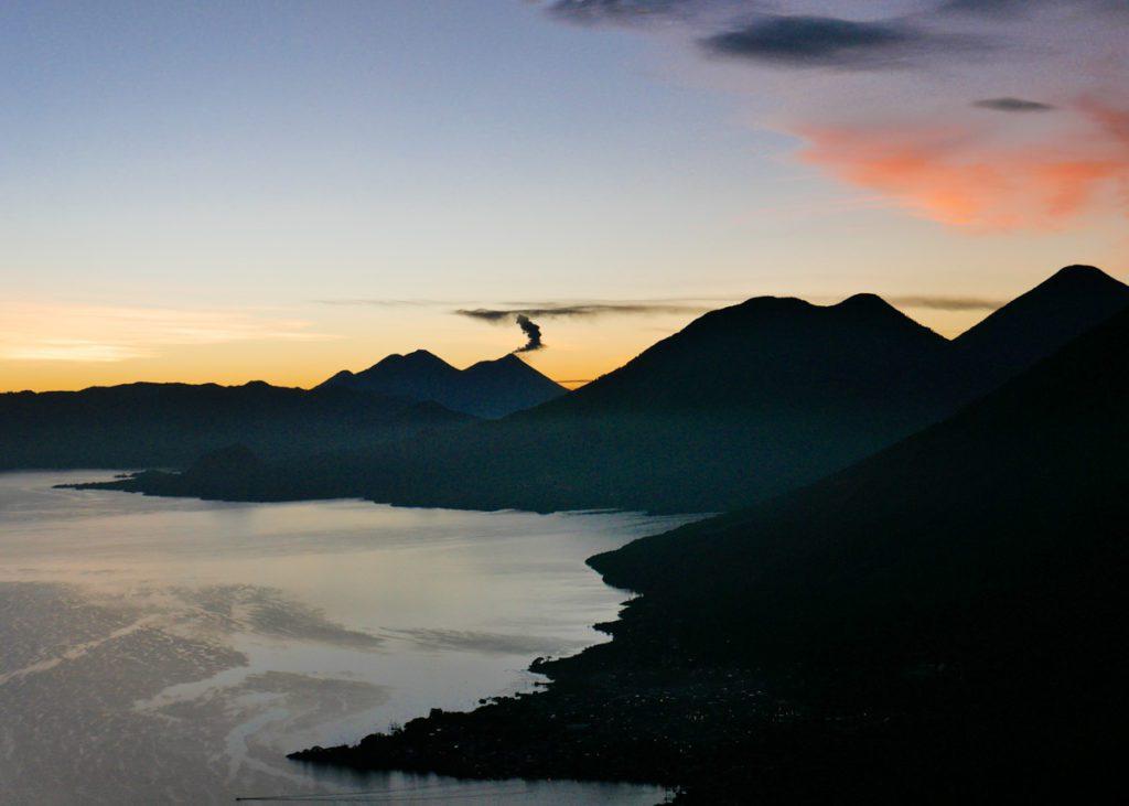 mayans nose sunrise at lake atitlan best places to visit in guatemala